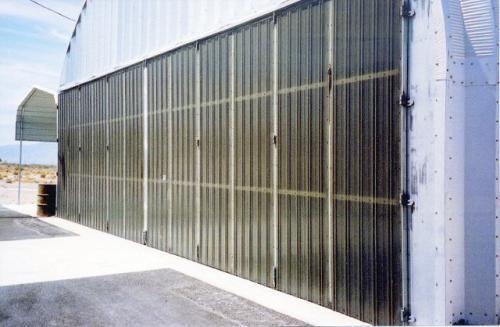 Horton Stack Door Details & Steel Building Doors   Steel Doors   Duro Steel