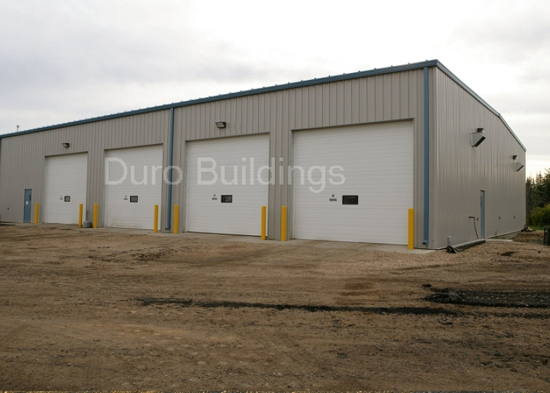 Steel buildings pre engineered steel buildings duro steel for 50x100 garage